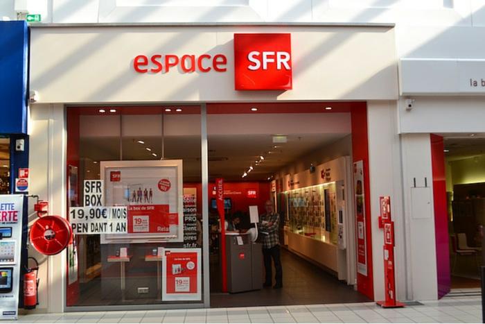 SFR devanture