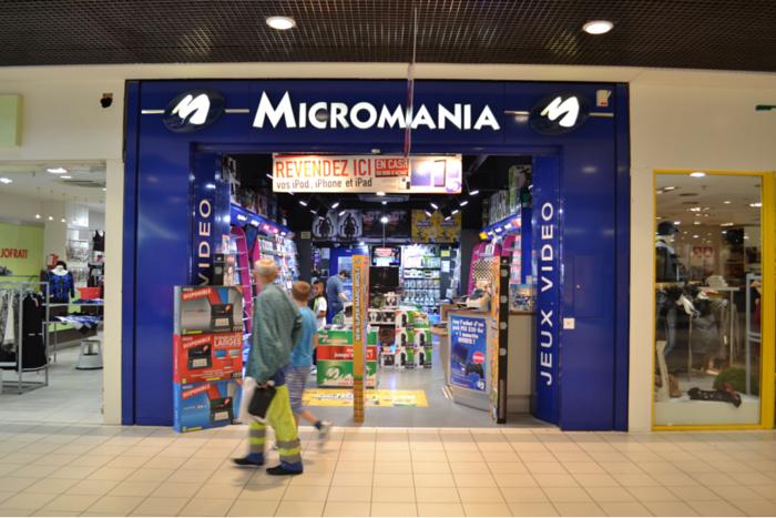 Micromania devanture