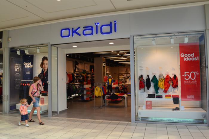 Okaidi devanture