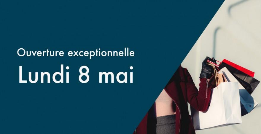 Ouverture exceptionnelle lundi 8 mai 2017 centre commercial rive droite - Ouverture exceptionnelle castorama ...