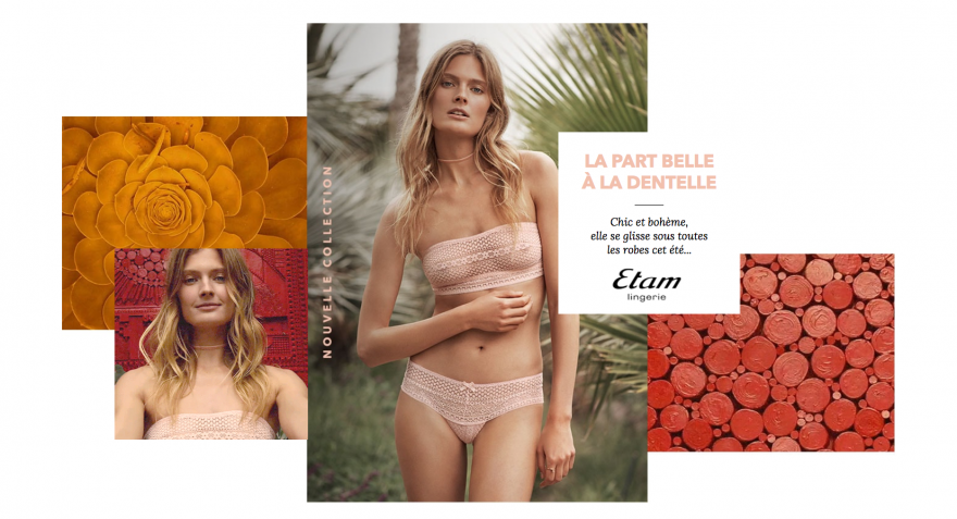 etam lingerie collection 2017