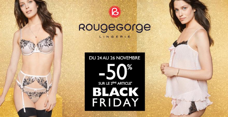 black friday rouge gorge