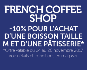 frenche coffee shop black friday