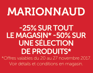 marrionnaud black friday