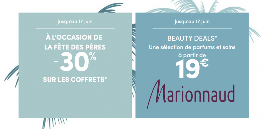 Marionnaud offre