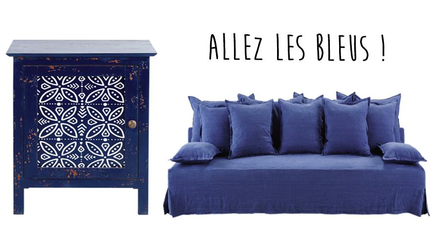 meubles bleus