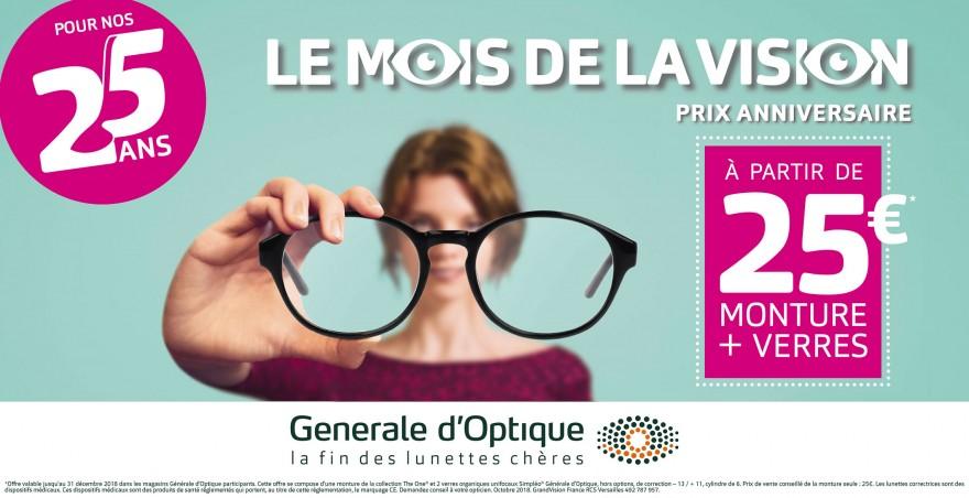 newest d7443 ac00c Le mois de la vision chez Générale d optique