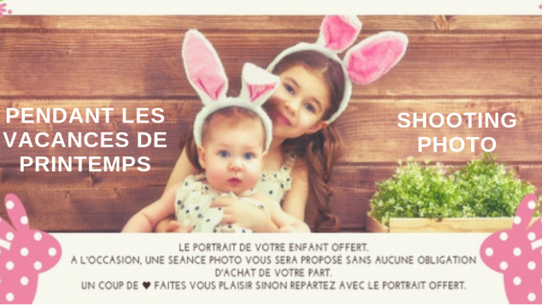 Shooting photo pendant les vacances de printemps
