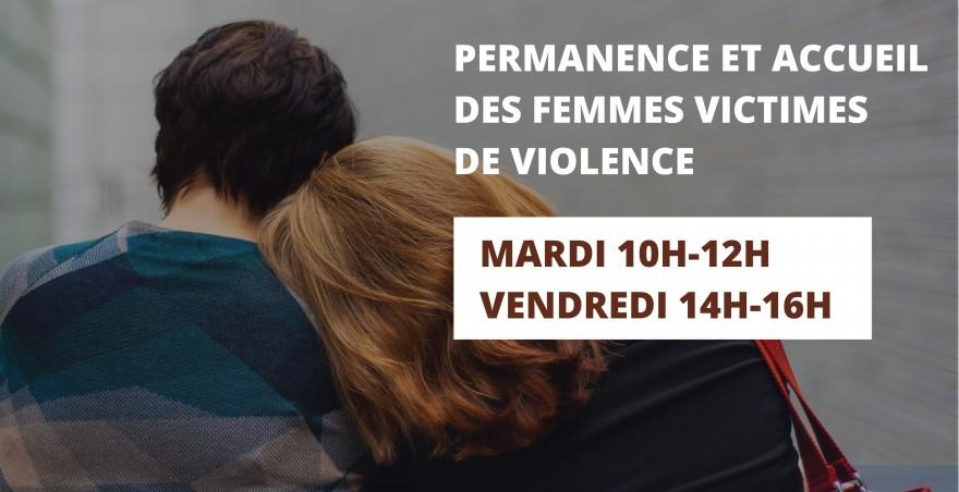 Permanence et accueil des victimes de violence